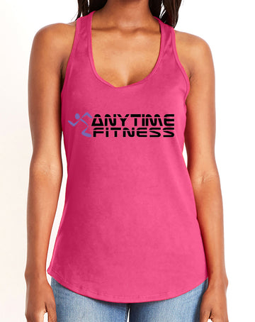Anytime Fitness Women's gather back tank Pink