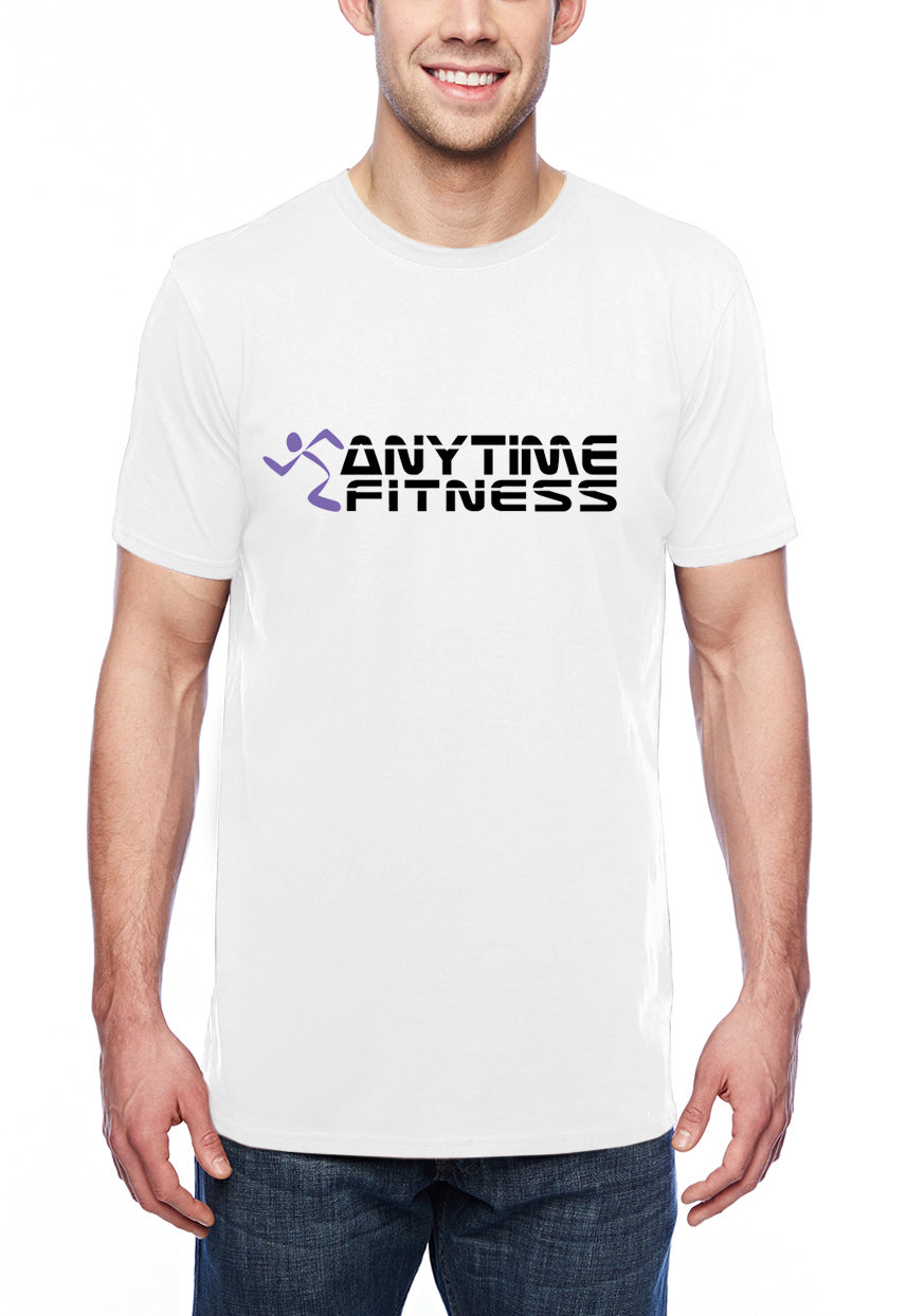 Anytime Fitness Adult Lightweight Tee White