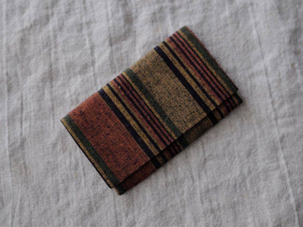 Card Case Brown Obi