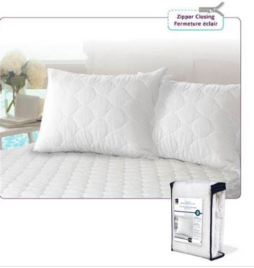 QUILTED PILLOW PROTECTOR 5-92237
