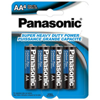 AA 4PK PANASONIC BATTERY 9-20101