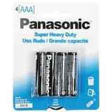 AAA 4PK PANASONIC BATTERY 9-20102