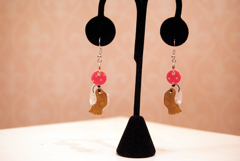 Erstwilder Coco The Clever Cavalier Earrings