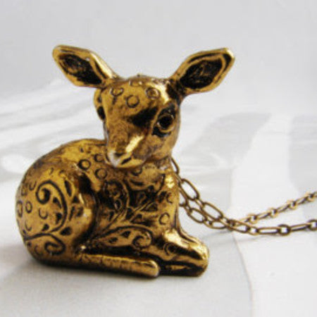 Deer Locket