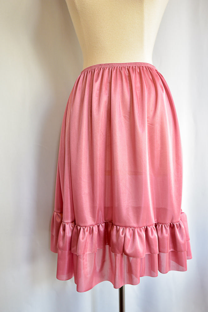 Rose Ruffle Skirt Slip