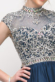Navy Beaded Princess Size 10