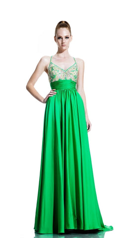 Green Gown Size 8