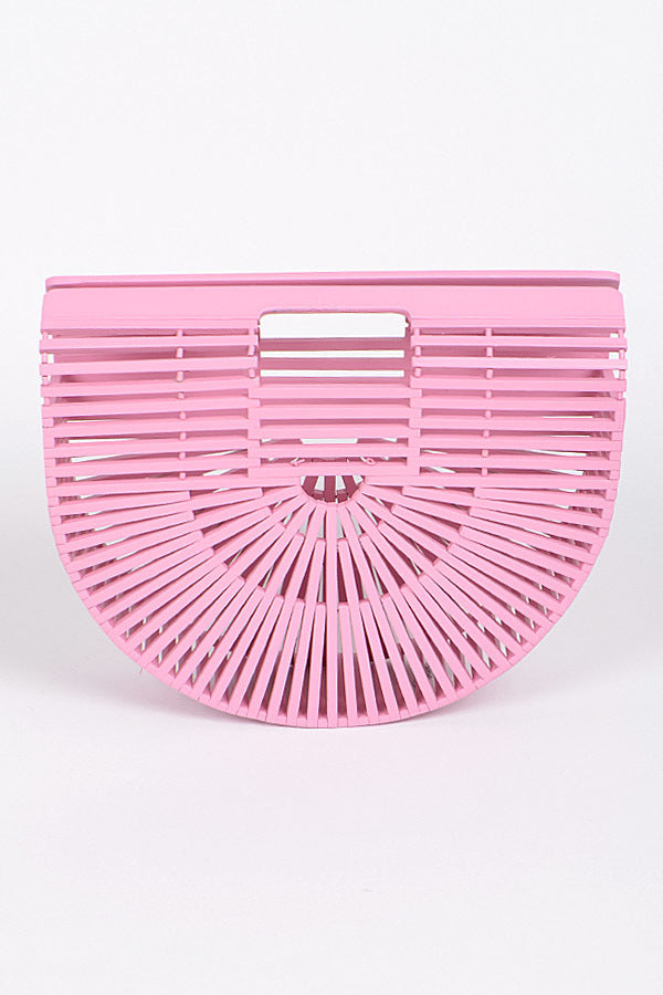 Bamboo Clutch (multiple colors)