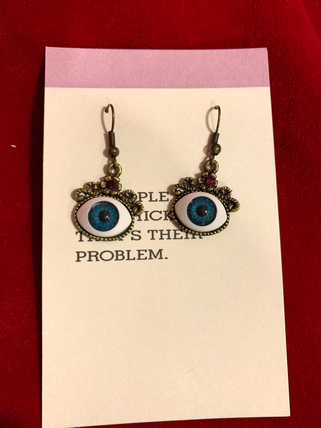 Blue Eye Earrings