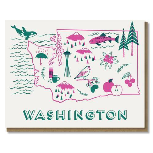 Washington Love Card