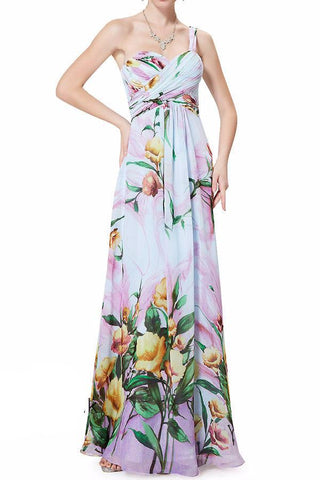 Maxi Floral Evening Gown Size 10