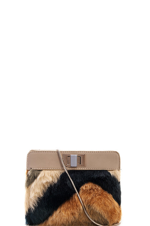 Soft Fur Crossbody