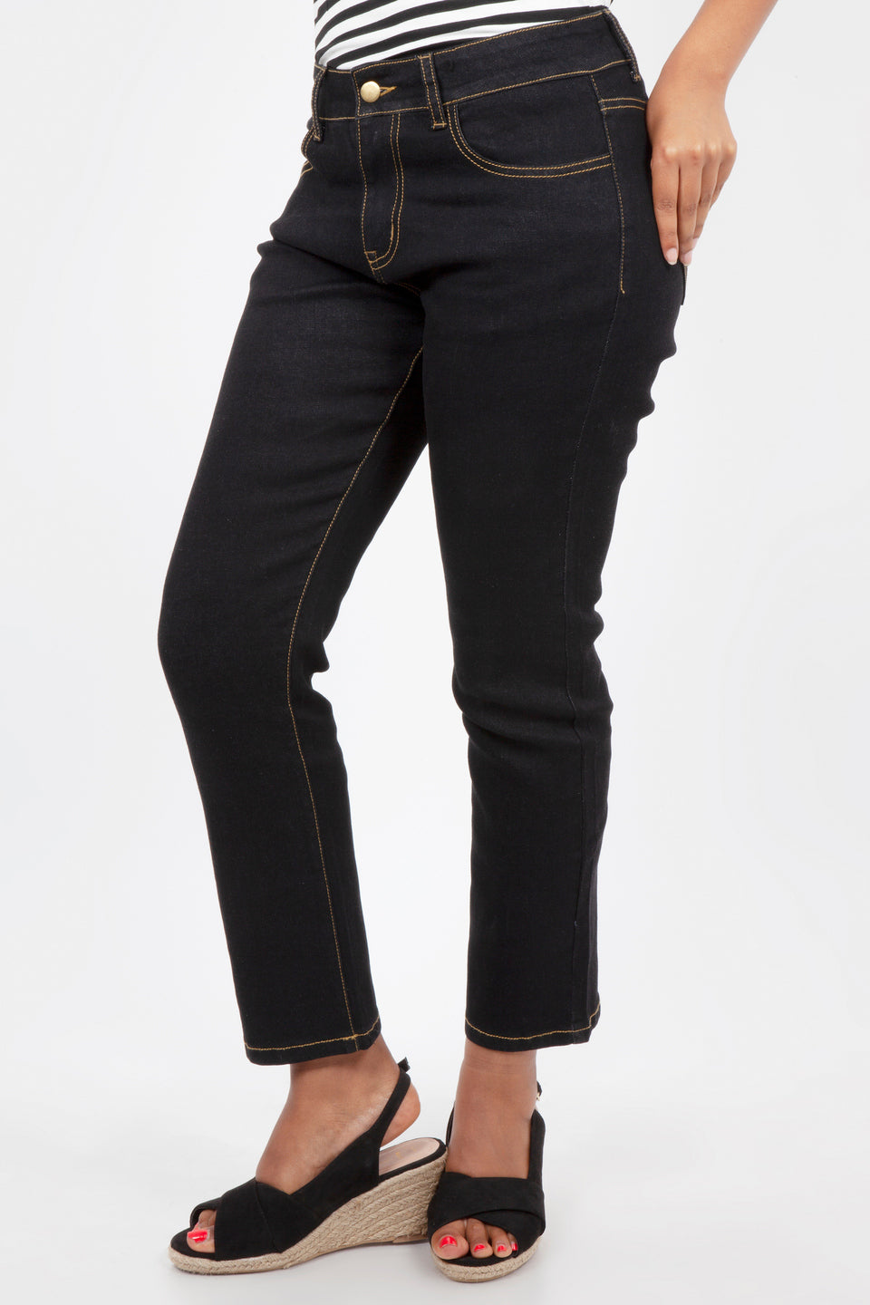 Heart Pocket Cigarette Pants