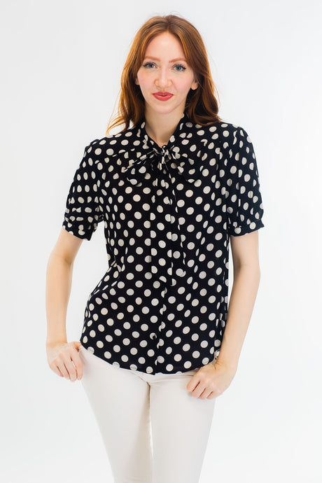 Dot Print Top (multiple colors)