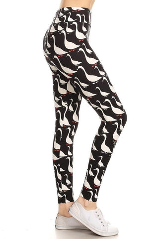 Plus Size Duck Leggings