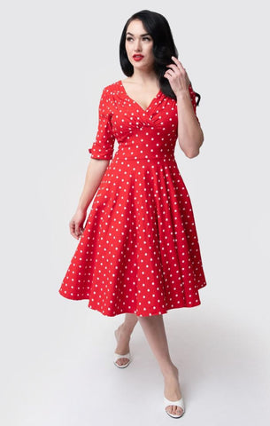 Red Polka Dot Delores