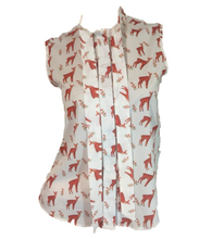 Red Deer Blouse