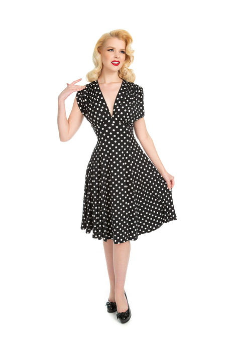Polka Dot Raquel Dress (multiple colors)