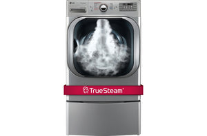 LG  Mega Capacity Electric Dryer with TrueSteam 9.0 cu.ft.