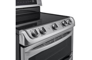 LG  Electric Double Oven Range with ProBake Convection® and EasyClean® 7.3 cu.ft.