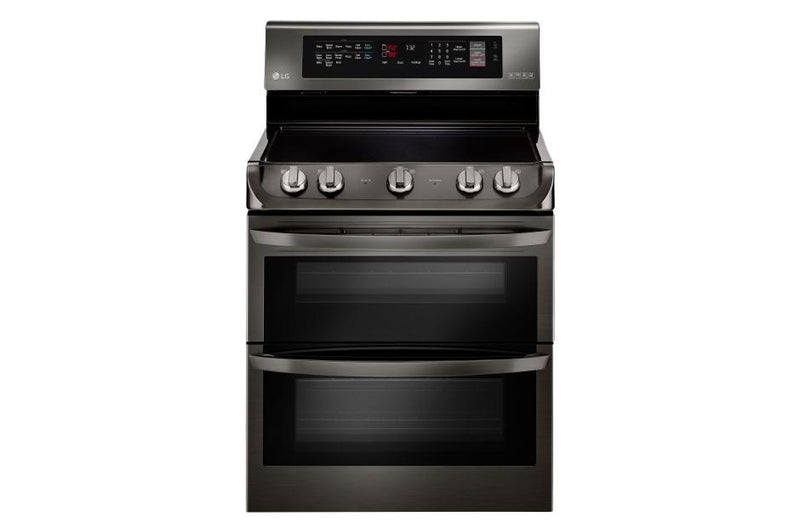 LG  Electric Double Oven Range with ProBake Convection®, EasyClean® and Infrared Heating™ System 7.3 cu.ft.