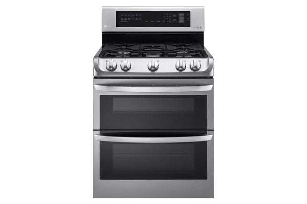 LG  Gas Double Oven Range with ProBake Convection® and EasyClean® 6.9 cu.ft.
