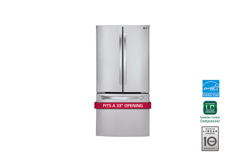 LG  French Door Refrigerator 24 cu.ft.