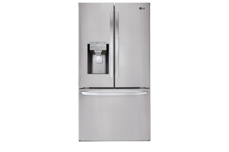 LG  Black Stainless Steel Series 3- Door Refrigerator with Door-in-Door 28 cu.ft.