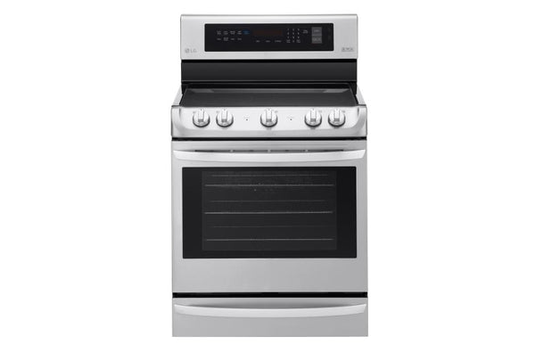 LG  Electric Single Oven Range with ProBake Convection® and EasyClean® 6.3 cu.ft.