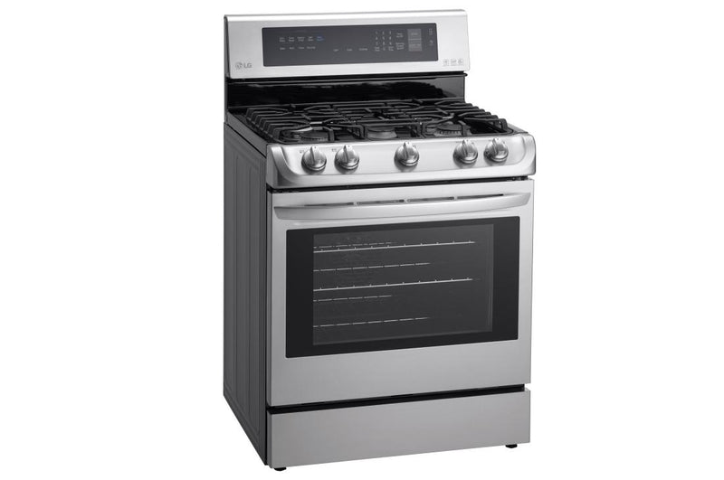 LG  Gas Single Oven Range with ProBake Convection® and EasyClean® 6.3 cu.ft.