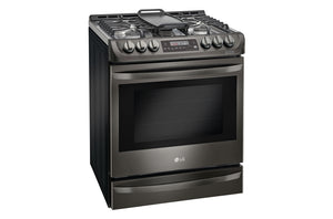 LG  Gas Single Oven Slide-in Range with ProBake Convection® and EasyClean® 6.3 cu.ft.