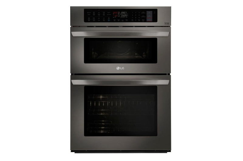 LG  Smart wi-fi Enabled Combination Double Wall Oven 1.7/4.7 cu.ft.