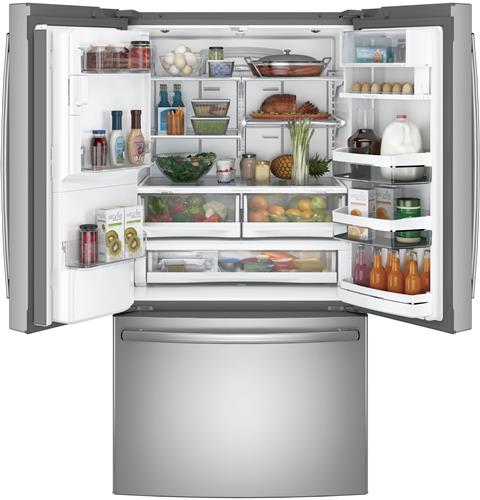 GE Profile™ Series ENERGY STAR® French-Door Refrigerator with Keurig® K-Cup® Brewing System 27.8 cu.ft.