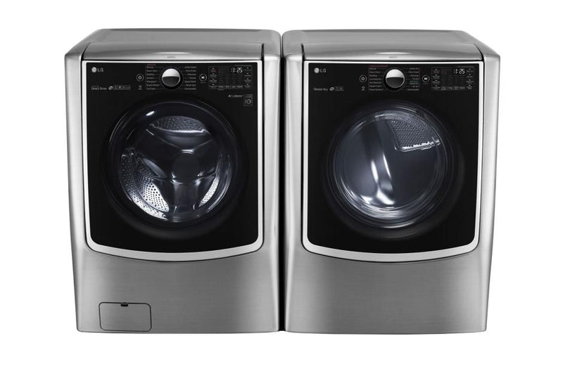 LG  Large Smart wi-fi Enabled Front Load Washer TurboWash® 5.2 cu.ft.