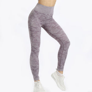 Camo High Waist Flexible Leggings 5 Colors