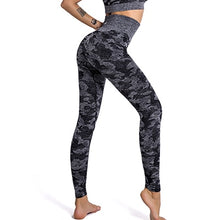 Camo Seamless Leggings Push Up High Waist Leggings