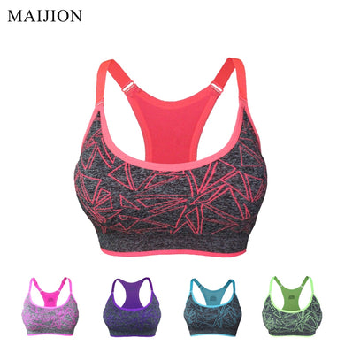 Sports Bra Designed Stretch Tank Top