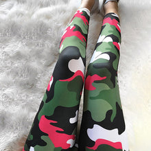 Multi-Color Camouflage Leggings Women 3 Styles
