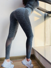Blended Color Fitted Comfy Leggings