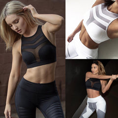 ArrowMesh Shakeproof Push Up Bra