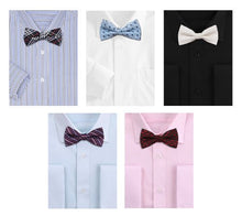 A12: Bundle Monster Mens Tuxedo Adjustable Neck Bowtie Bow Tie 5pc Mixed Lot Set #3