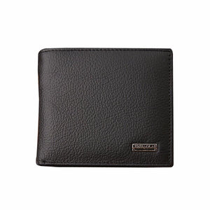 E: Slim Fold Flip Wallet Card Holder Leather Purse