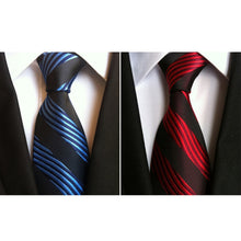 B2: Men's Classic Diagonal Pattern Necktie