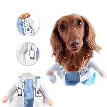 Load image into Gallery viewer, Dachlove.com Hospital Doctor Costume, costume- Dachshundloversonline  brings together dachshund merchandise, original and unique designed sausage dog gifts, accessories from all around the world.  The perfect addition to your dachshund loving home.  Find it in one store where you can buy them online and free shipping worldwide to your doorstep.