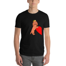 Load image into Gallery viewer, Dachlove.com King Dachshund Short-Sleeve T-Shirt, T-shirt- Dachshundloversonline  brings together dachshund merchandise, original and unique designed sausage dog gifts, accessories from all around the world.  The perfect addition to your dachshund loving home.  Find it in one store where you can buy them online and free shipping worldwide to your doorstep.