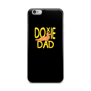 Dachlove.com Doxie Dad iPhone Case, iPhone Accessories- Dachshundloversonline  brings together dachshund merchandise, original and unique designed sausage dog gifts, accessories from all around the world.  The perfect addition to your dachshund loving home.  Find it in one store where you can buy them online and free shipping worldwide to your doorstep.