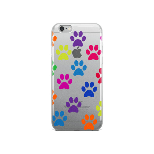 Dachlove.com iPhone Case Dachshund Colorful Paw Print, Cases- Dachshundloversonline  brings together dachshund merchandise, original and unique designed sausage dog gifts, accessories from all around the world.  The perfect addition to your dachshund loving home.  Find it in one store where you can buy them online and free shipping worldwide to your doorstep.