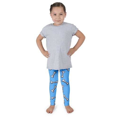 Dachlove.com Blue Bones Kid's leggings, Leggings- Dachshundloversonline  brings together dachshund merchandise, original and unique designed sausage dog gifts, accessories from all around the world.  The perfect addition to your dachshund loving home.  Find it in one store where you can buy them online and free shipping worldwide to your doorstep.