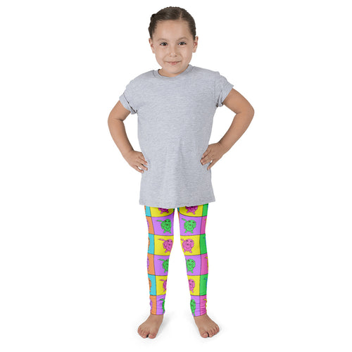 Dachlove.com Colorful Dachshund Image Kid's leggings, Leggings- Dachshundloversonline  brings together dachshund merchandise, original and unique designed sausage dog gifts, accessories from all around the world.  The perfect addition to your dachshund loving home.  Find it in one store where you can buy them online and free shipping worldwide to your doorstep.