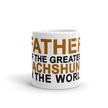 Load image into Gallery viewer, Dachlove.com Father of the greatest Dachshund in the World Mug, - Dachshundloversonline  brings together dachshund merchandise, original and unique designed sausage dog gifts, accessories from all around the world.  The perfect addition to your dachshund loving home.  Find it in one store where you can buy them online and free shipping worldwide to your doorstep.